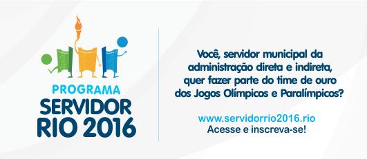 Banner Servidor Rio 2016
