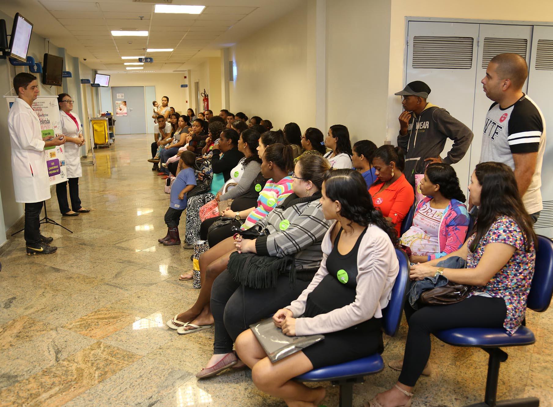 Projeto Família Grávida orienta gestantes durante o pré-natal no Hospital Maternidade Maria Amélia