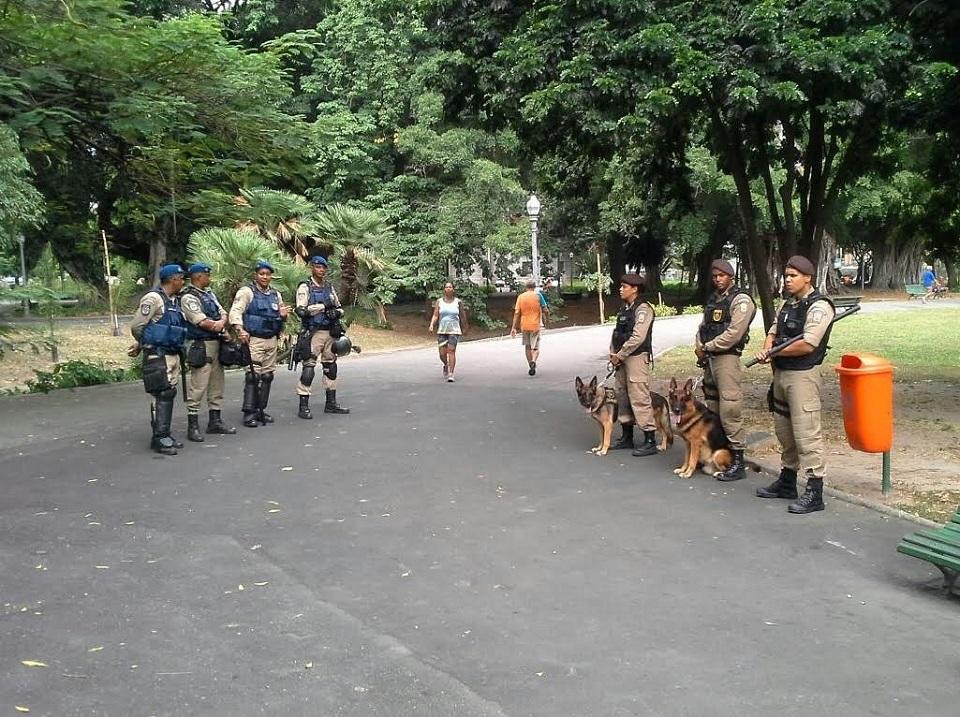 Campo de Santana ganha reforço no patrulhamento