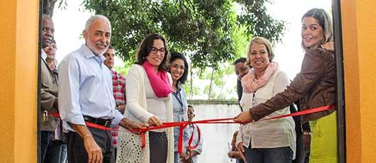 Desenvolvimento Social inaugura quatro novos abrigos em Paciência