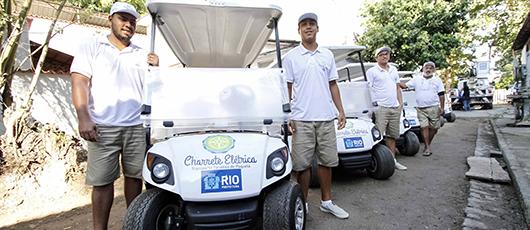 Prefeitura entrega 17 carros elétricos em Paquetá e dá fim à tração animal