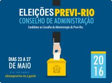 Eleições para o Conselho de Administração do Previ-Rio começaram segunda, 23/05