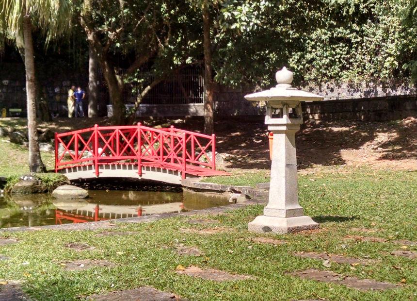 Monumentos no Alto da Boa Vista recebem serviços de limpeza