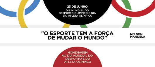 Banner Dia Mundial do Desporto Olímpico