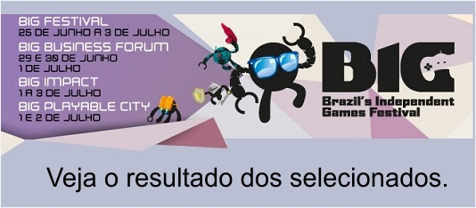 A RioFilme e o BIG Festival apresentam as 14 empresas selecionadas.