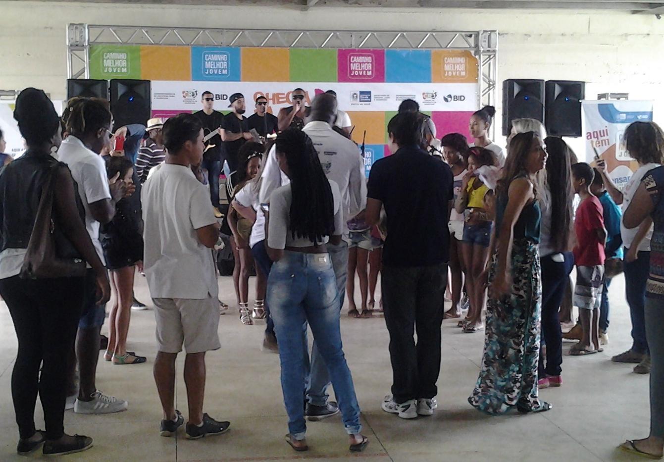 SPM-Rio participa do Caminho Melhor Jovem no Cantagalo