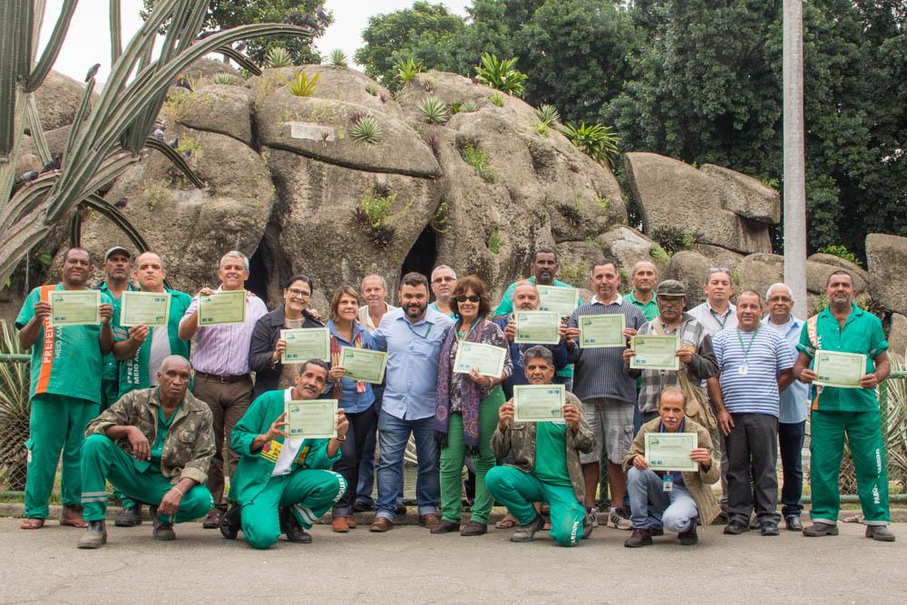 <Strong>Fundação Parques e Jardins homenageia servidores que completaram 30 anos de serviço</Strong>