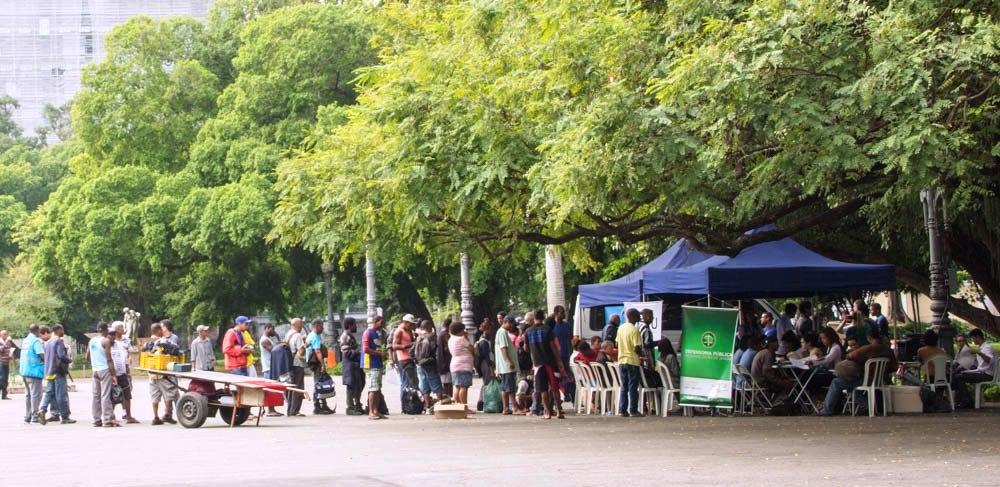 <Strong>Campo de Santana recebe ação da Secretaria Municipal de Desenvolvimento Social.</Strong>