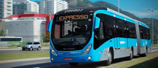 Serviço expresso do BRT em Madureira será ampliado até o Jardim Oceânico