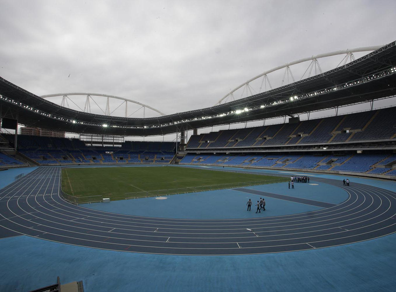 Entorno do Estádio Olímpico terá esquema especial de tráfego durante os Jogos