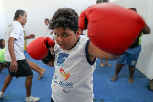 Olimpíada inspira alunos de Vila Olímpicas