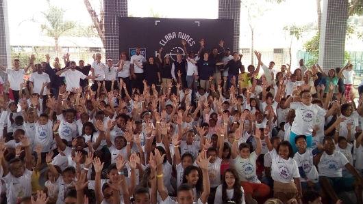 Vila Olímpica Clara Nunes tem dia de festa e diversão para alunos e moradores do bairro