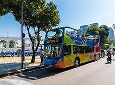 Rio ganha serviço oficial de passeio turístico em veículos panorâmicos