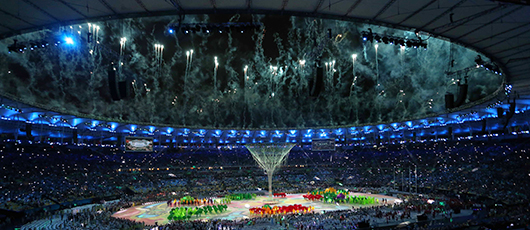 Jogos Olímpicos Rio 2016 terminam em samba