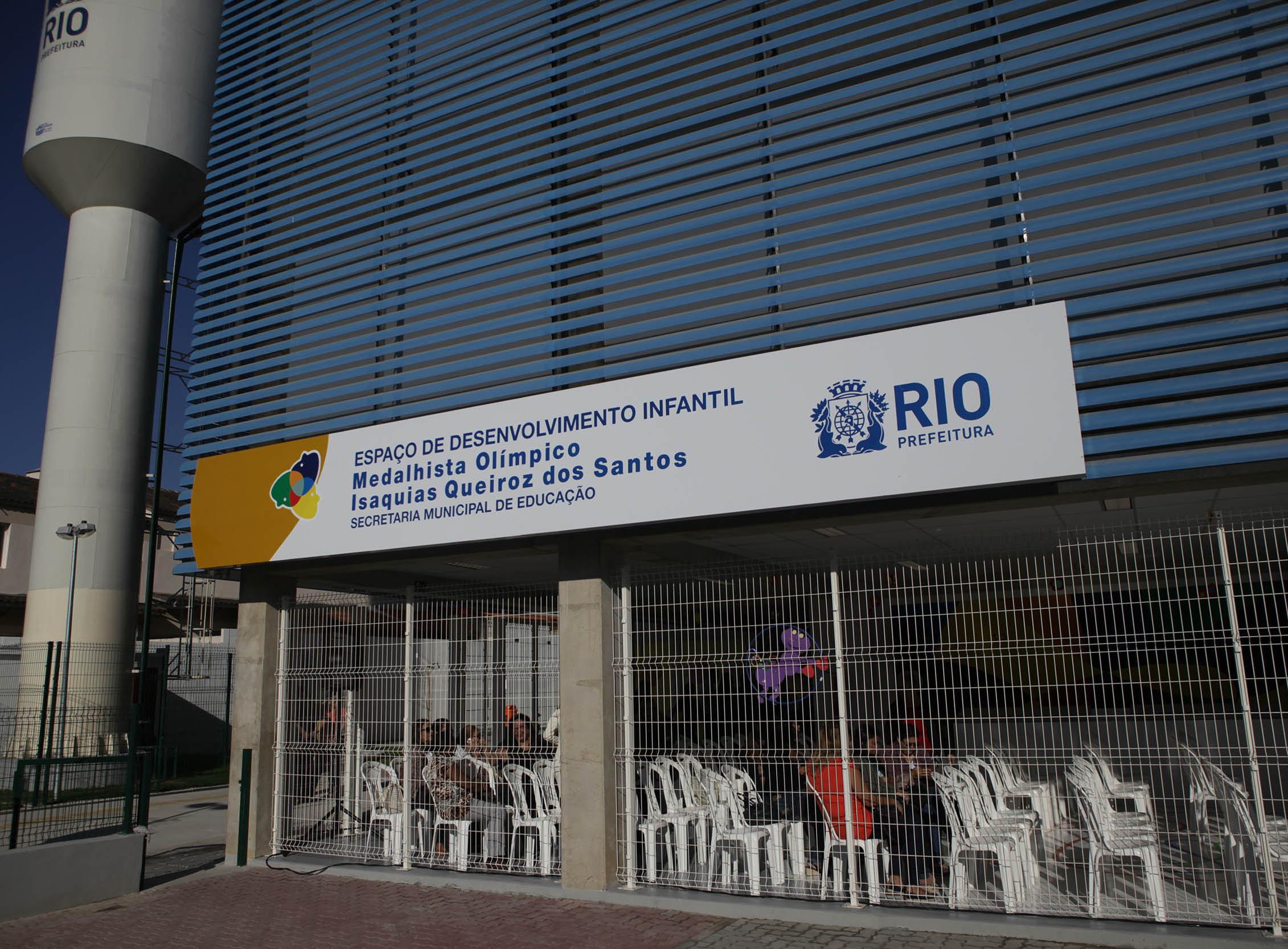 Prefeitura entrega duas Escolas do Amanhã na Zona Oeste com nomes de medalhistas olímpicos
