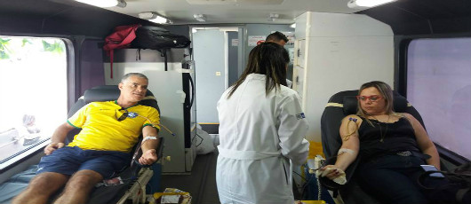 Engenhão recebe campanha de doação de sangue durante Paralimpíadas
