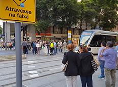 Estudo aponta redução do número de acidentes de trânsito no Centro do Rio