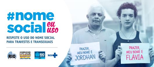 Campanha em unidades de saúde defende direito ao uso do nome social