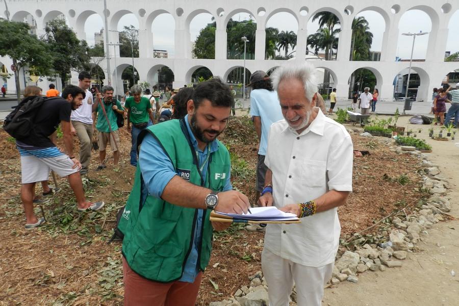 <Strong>Plante Rio ocupa Arcos da Lapa com plantio de agrofloresta em parceria com a FPJ</Strong>
