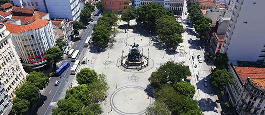 Instituto Rio Patrimônio da Humanidade abre edital de ocupação cultural da Praça Tiradentes