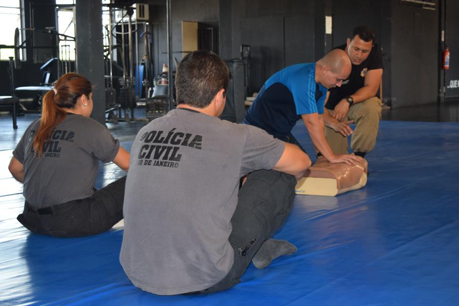GOE ministra treinamento de atualização para policiais civis