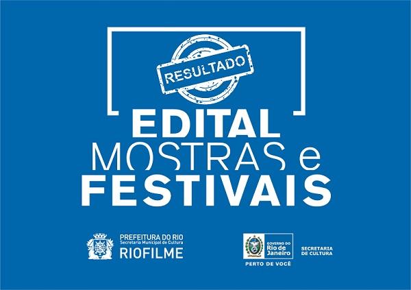 Resultado do Edital de Mostras e Festivais - RioFilme/SEC-RJ