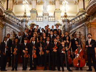 Camerata da Orquestra Sinfônica Jovem do Rio no Planetário