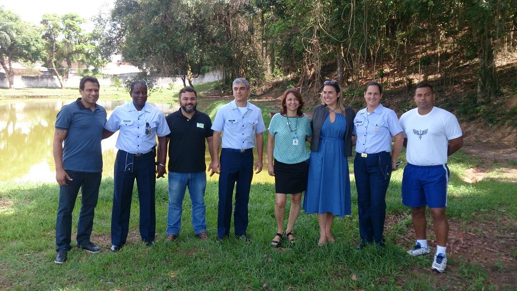 <Strong>Projeto para requalificação de área verde da Prefeitura de Aeronáutica do Galeão</Strong>