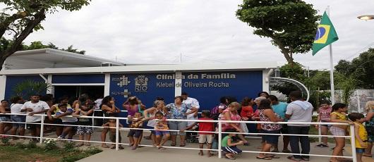 Alemão e Olaria ganham novas clínicas da família