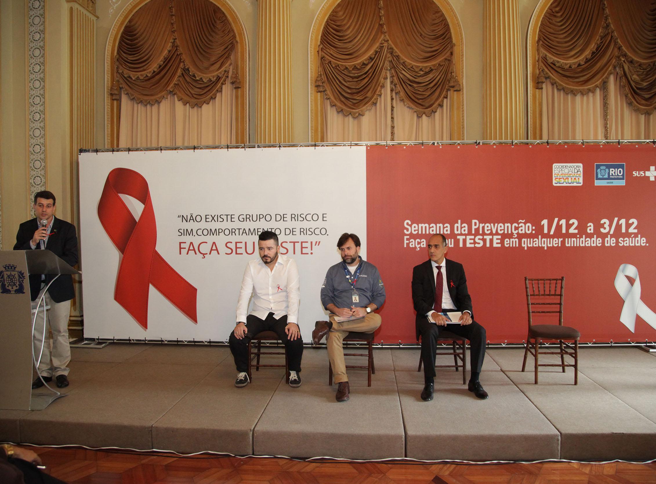Prefeitura lança campanha de testagem pelo Dia Mundial de Luta contra a Aids