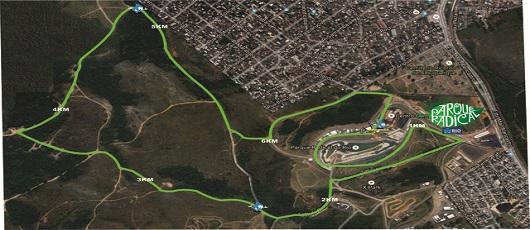 Circuito de corrida vai explorar área do Parque Radical em Deodoro