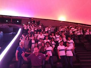 Planetário recebe Al Sacco, astronauta da NASA, em encontro com alunos das escolas municipais