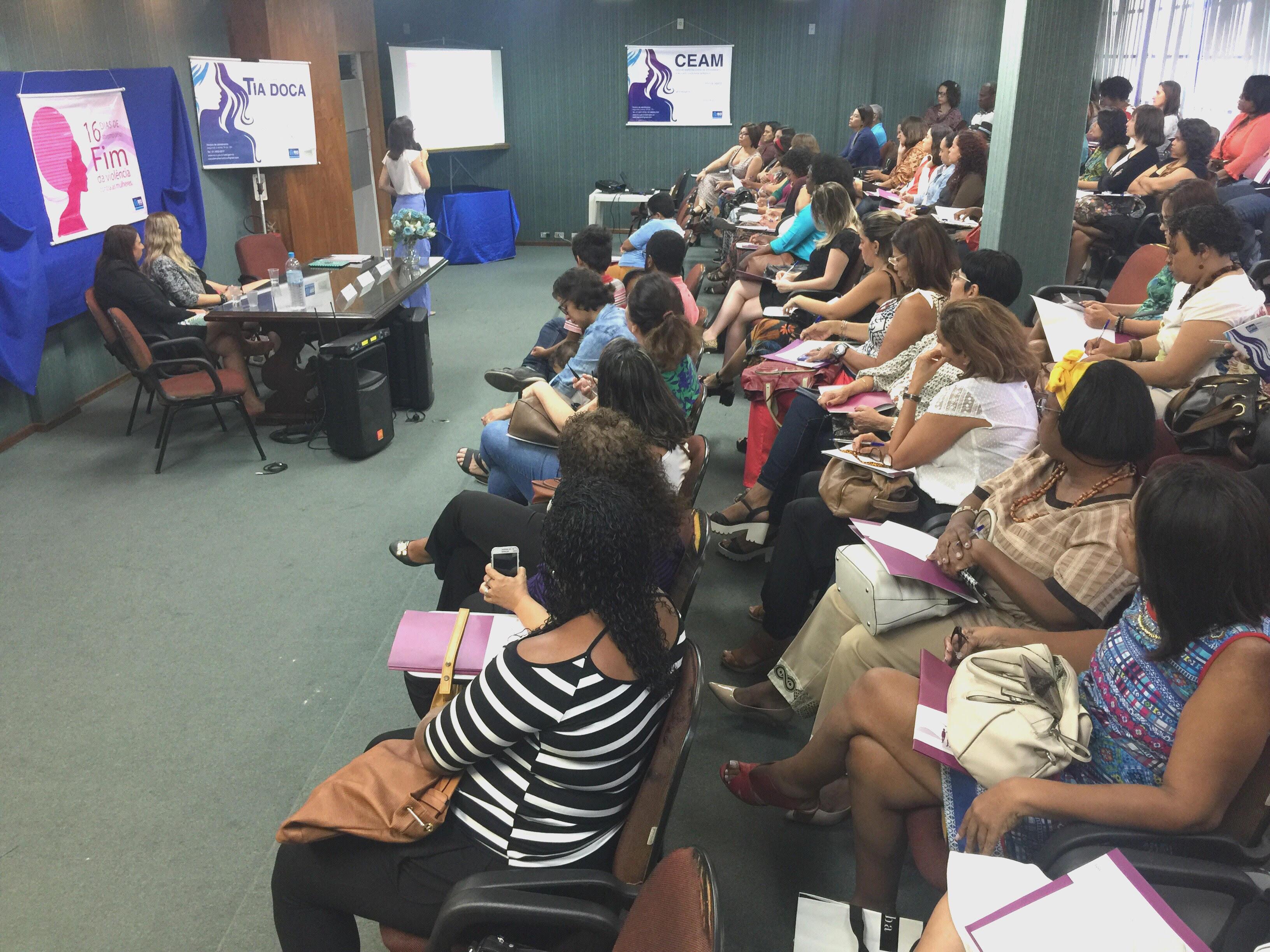 CEAM realiza seminário sobre Enfrentamento da Violência Contra a Mulher