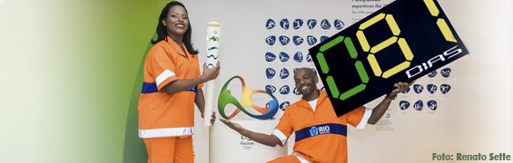 garis olimpicos Marcielle Arruda e Renato Sorriso