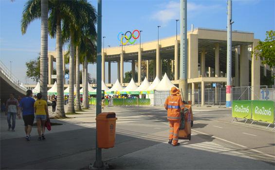Comlurb nos Jogos Olímpicos 2016