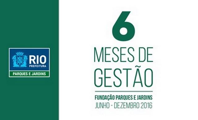<Strong>6 MESES DE GESTÃO - JUNHO - DEZEMBRO DE 2016</Strong>