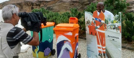 Campanha #Praia Limpa tem parceria com o movimento Rio Eu Amo Eu Cuido