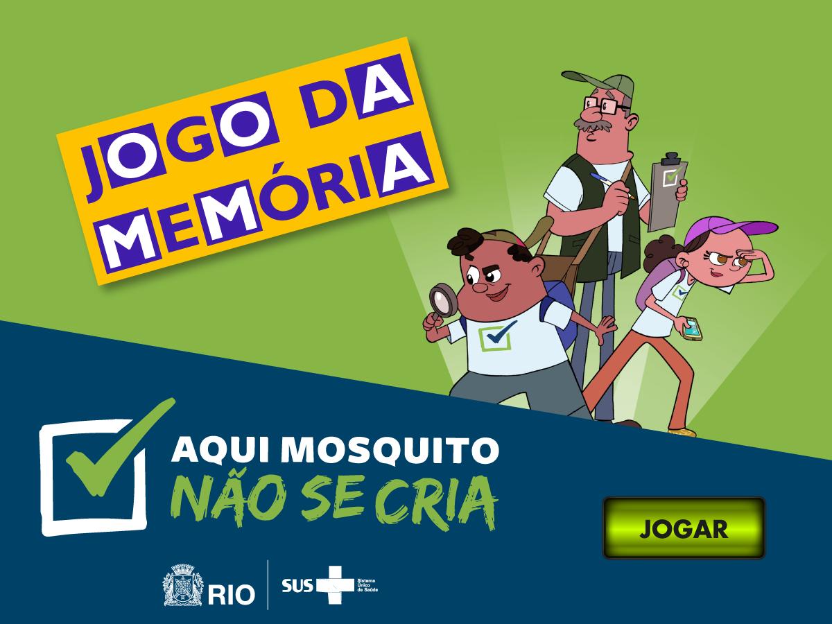 Novas produções da MultiRio apoiam ações educativas contra o Aedes