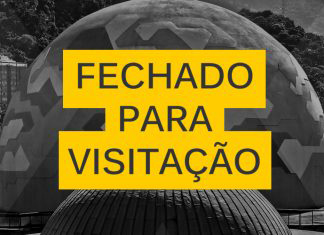 Planetário fecha para manutenção em 16/06
