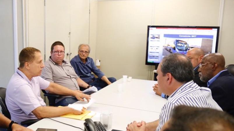 Grupo de trabalho coordenado pela Seop discute segurança no BRT