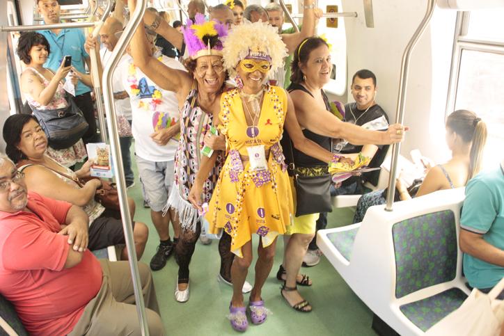 Trem leva prevenção e promoção da saúde da Zona Norte ao Centro