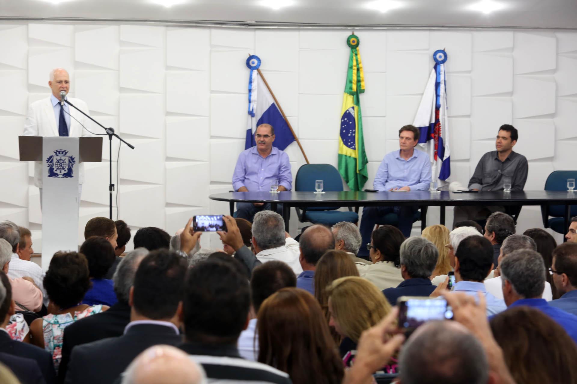 Novopresidente do Previ-Rio tomou posse neste dia 6 de março