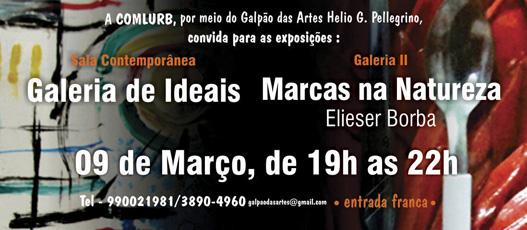 Galpão das Artes inaugura duas novas exposições