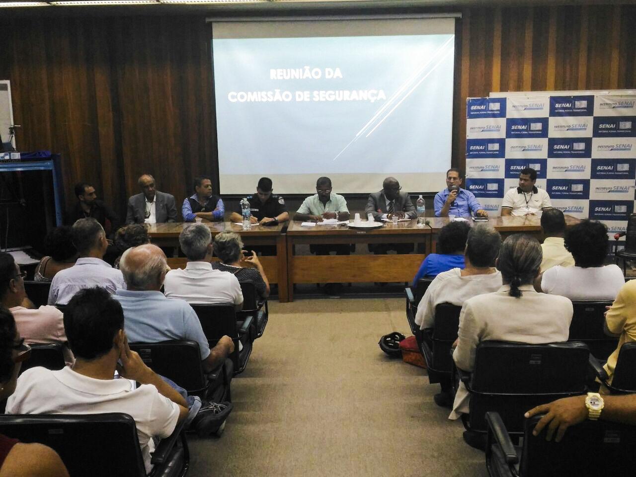 Ordem Pública participa de mais uma reunião de conselho de segurança