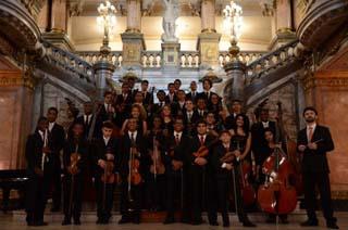 Orquestra Sinfônica Jovem do Rio de Janeiro se apresenta no Planetário