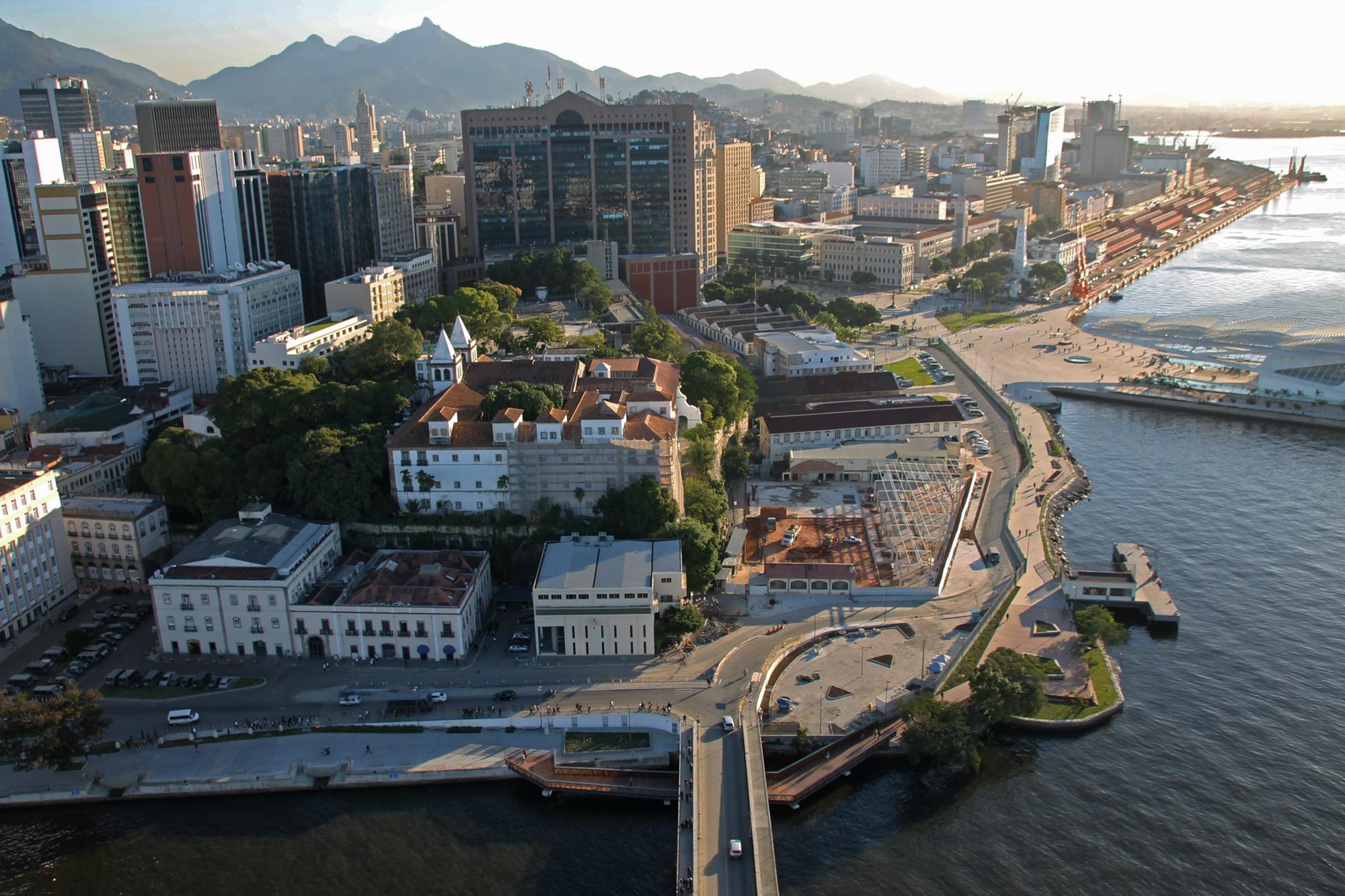 Turistas aprovam a Região Portuária do Rio