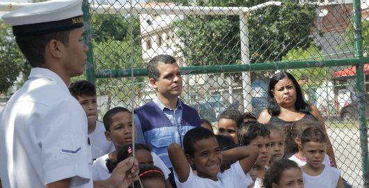 No Dia Mundial da Água Seconserma reabre CEA na Ilha do Governador