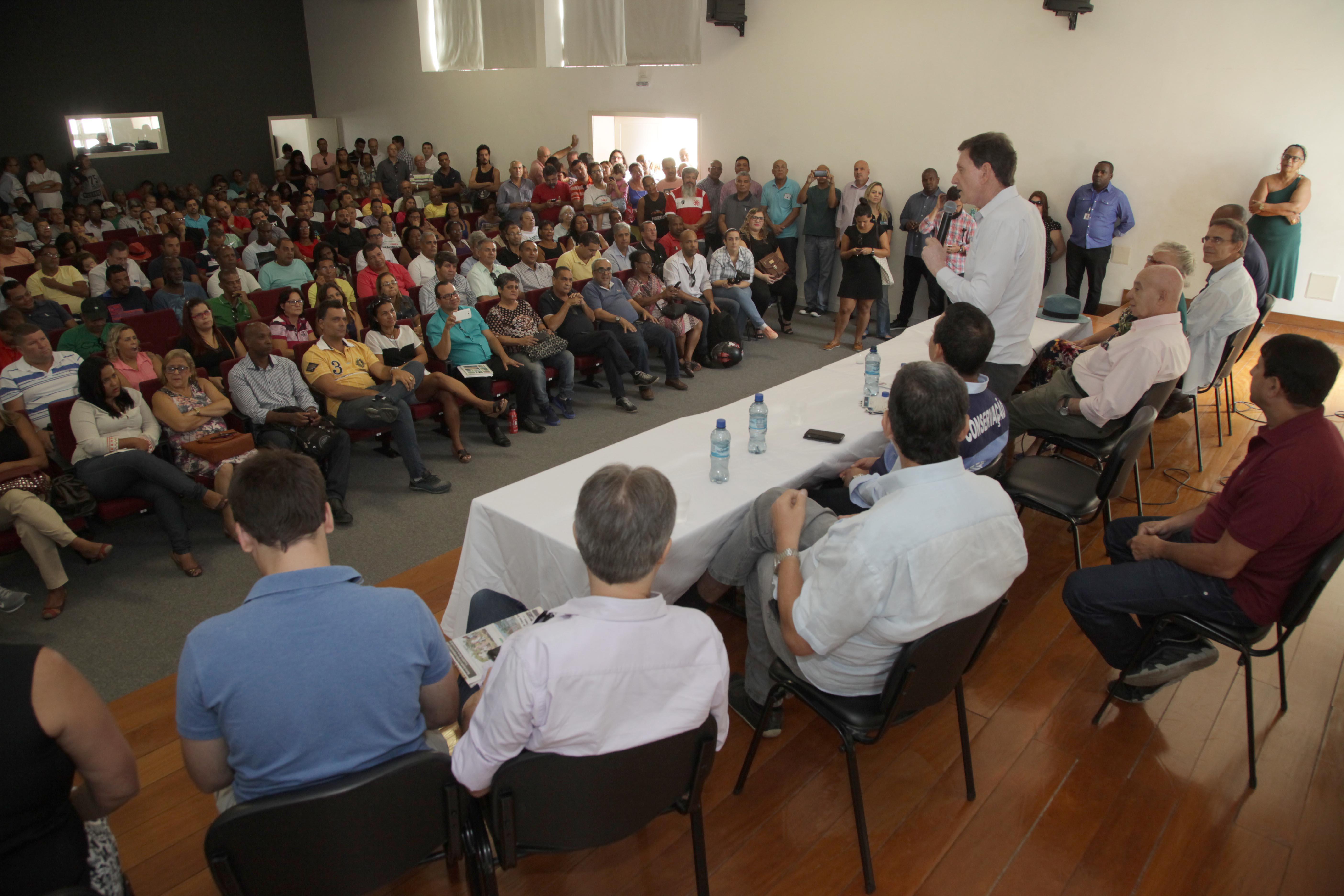 Crivella anuncia implantação do projeto Parque Realengo