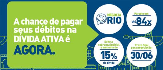 Programa Negocia Rio dá chance aos devedores do Município de parcelar suas dívidas em até 7 anos