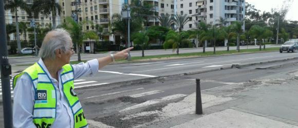 Vice-prefeito realiza vistoria em estação do BRT